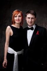 Beautiful young couple.