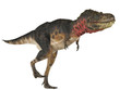 tarbosaurus walking free