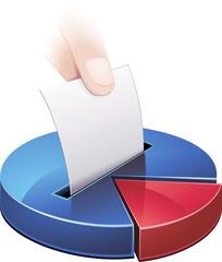 Élection et ses statistiques bleu (détouré)