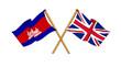United Kingdom and Cambodia alliance and friendship