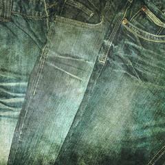 jeans print
