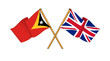 United Kingdom and East Timor alliance and friendship