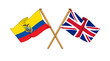 United Kingdom and Ecuador alliance and friendship