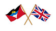 United Kingdom and Antigua and Barbuda alliance and friendship