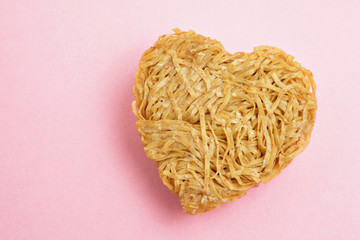 heart sharp noodle