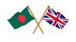 United Kingdom and Bangladesh -  alliance and friendship