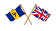 United Kingdom and Barbados -  alliance and friendship