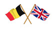United Kingdom and Belgium alliance and friendship