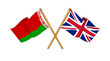 United Kingdom and Belarus alliance and friendship