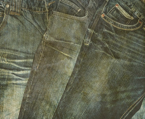 old jeans photo