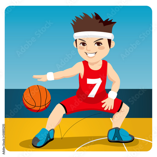 Active Basketball Player