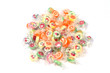 Bunte Bonbons auf weiß isoliert