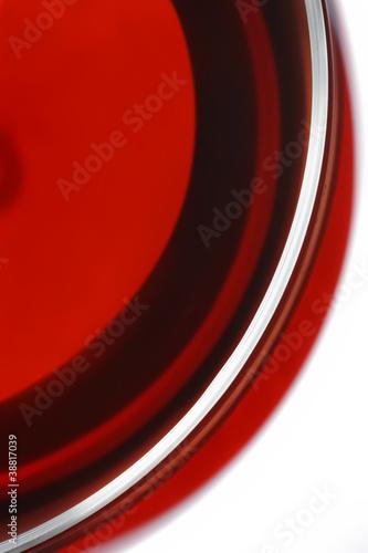 Rotweinglas_von_oben