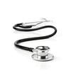 Stethoscope over white background