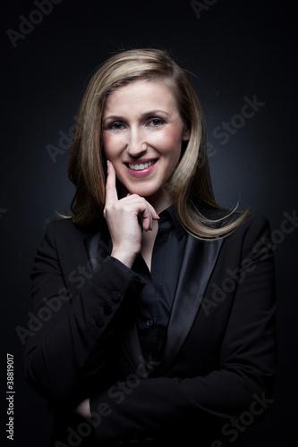 Nachdenkliche Frau