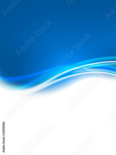 Fond bleu A4