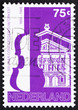 Postage stamp Netherlands 1988 Amsterdam Concertgebouw and Orche
