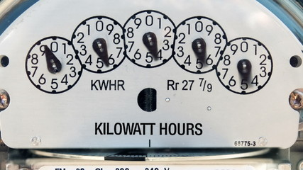 Electricity Meter (Time-lapse)