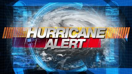 Hurricane Alert - Broadcast Graphics