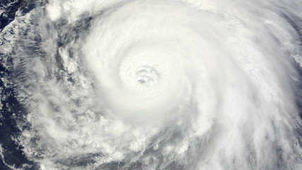Hurricane Satellite View (HD)