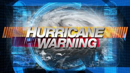 Hurricane Warning - Title Graphics
