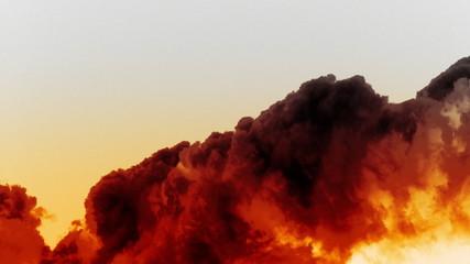 Inferno Raging Fire, Flames & Smoke