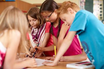 Gruppenarbeit in der Grundschule