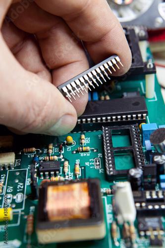riparazione scheda elettronica - 38831600