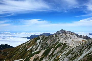 立山からの剣岳