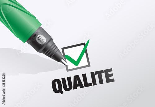 certifié de qualité