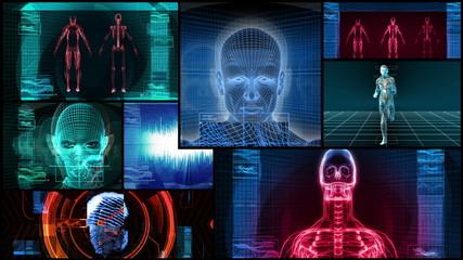 Bionic 3D Medical Science Montage (HD Loop)