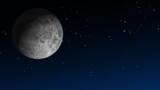 Moon & Twinkling Stars HD poster