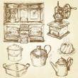 kitchenware, utensils