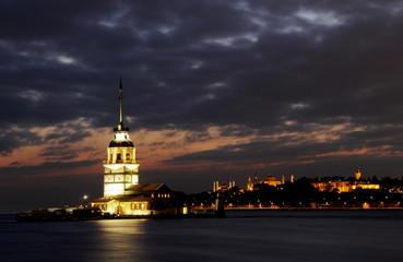 Kız Kulesi Gece