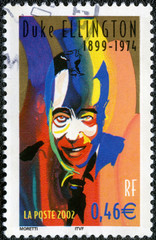 FRANCE - CIRCA 2002: A stamp printed in France shows Duke Elling