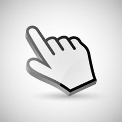 Pointing Hand Cursor