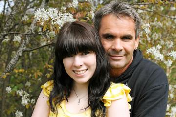 Zuneigung - Vater und Tochter