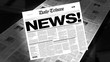 News! - Newspaper Headline (Reveal + Loops)