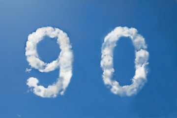 9 and 0 clouds number