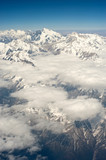 Himalayan snow mountains