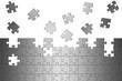 Puzzle Aluminium gebürstet