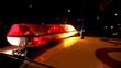 Police Car Light Bar Flashing