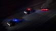 Police Cars at Scene of Accident (HD Loop)