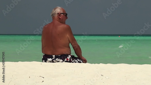 oldman and sea (Maldives)