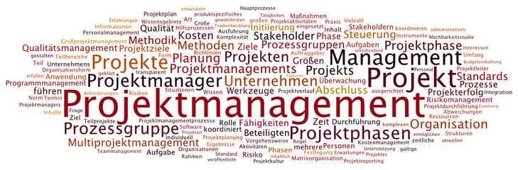Tag Cloud Projektmanagement