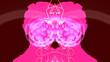Rorschach Dancing Girl Abstract Animation