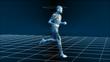High Tech Running Man (Loop)