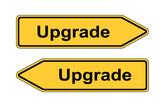 Umleitungsschild Upgrade poster