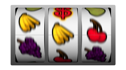 Slot Machine - Dollar Symbol Winner