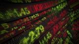 Stock Market Tickers Digital Data poster